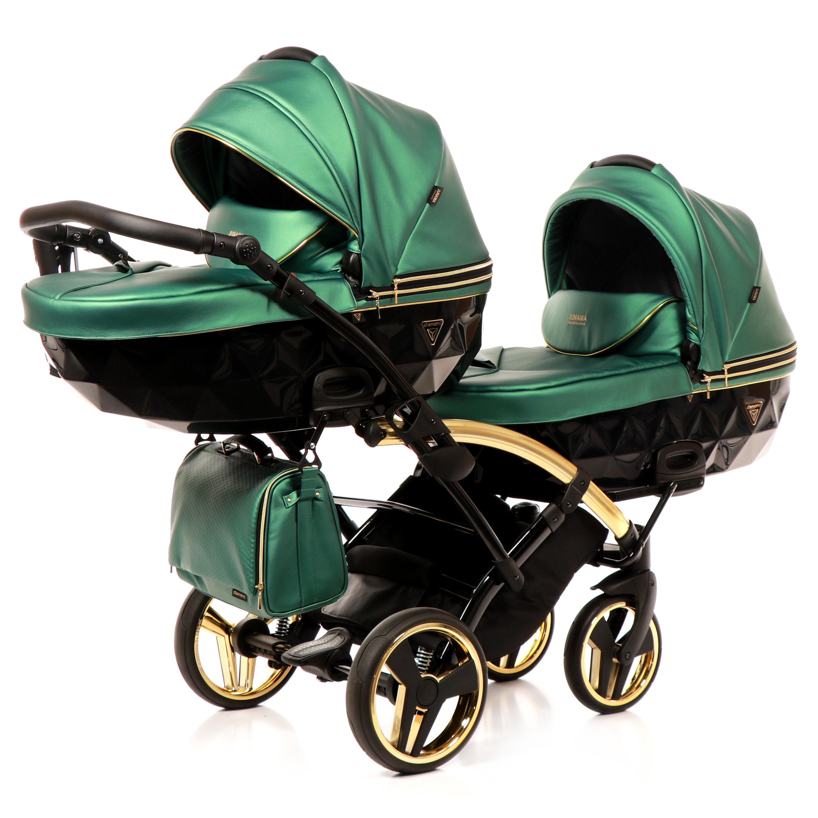 wielofunkcyjny Flu Line Duo Slim jeden za drugim elegancki wózek bliźniaczy Tako Dadi Shop