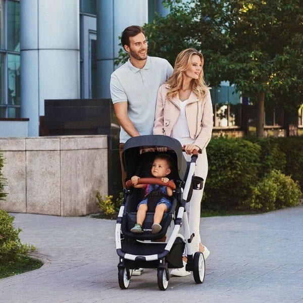 wózek spacerowy EasyGo Optimo Air wózki dziecięce