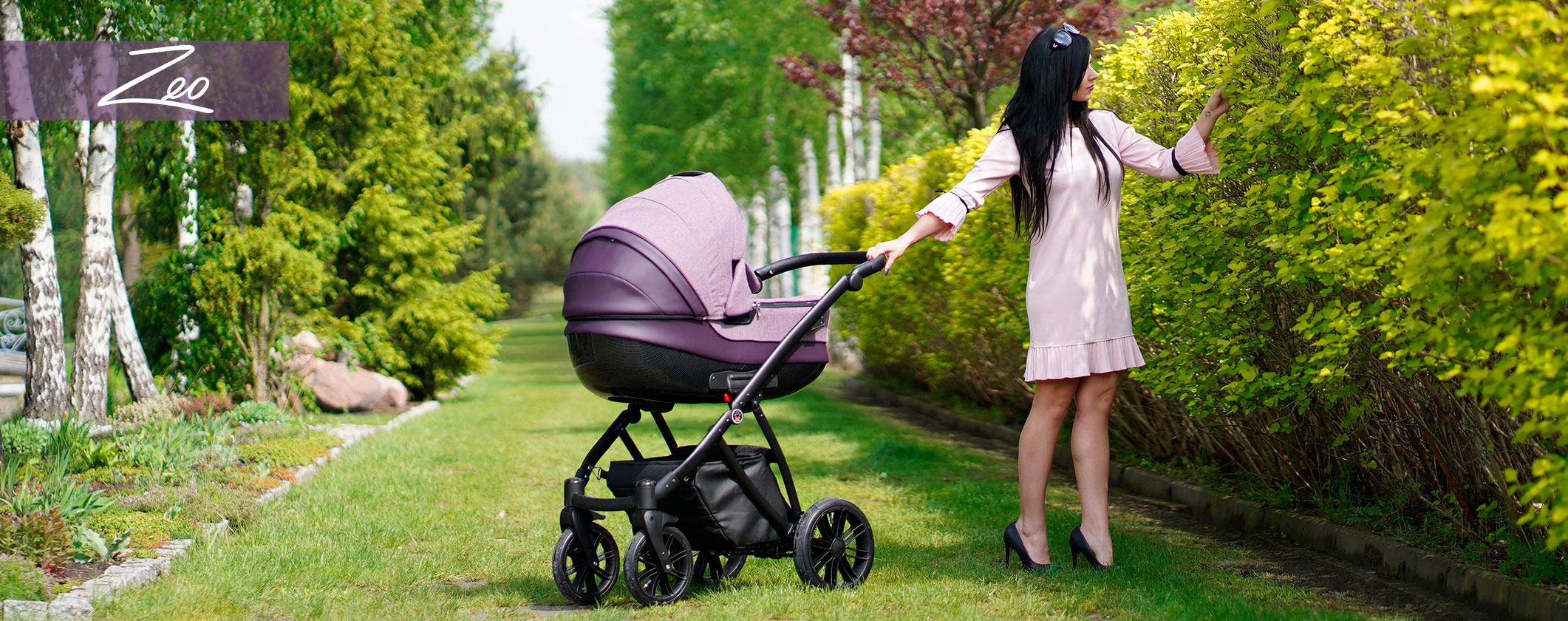 Camarelo wózek dziecięcy wielofunkcyjny zeo