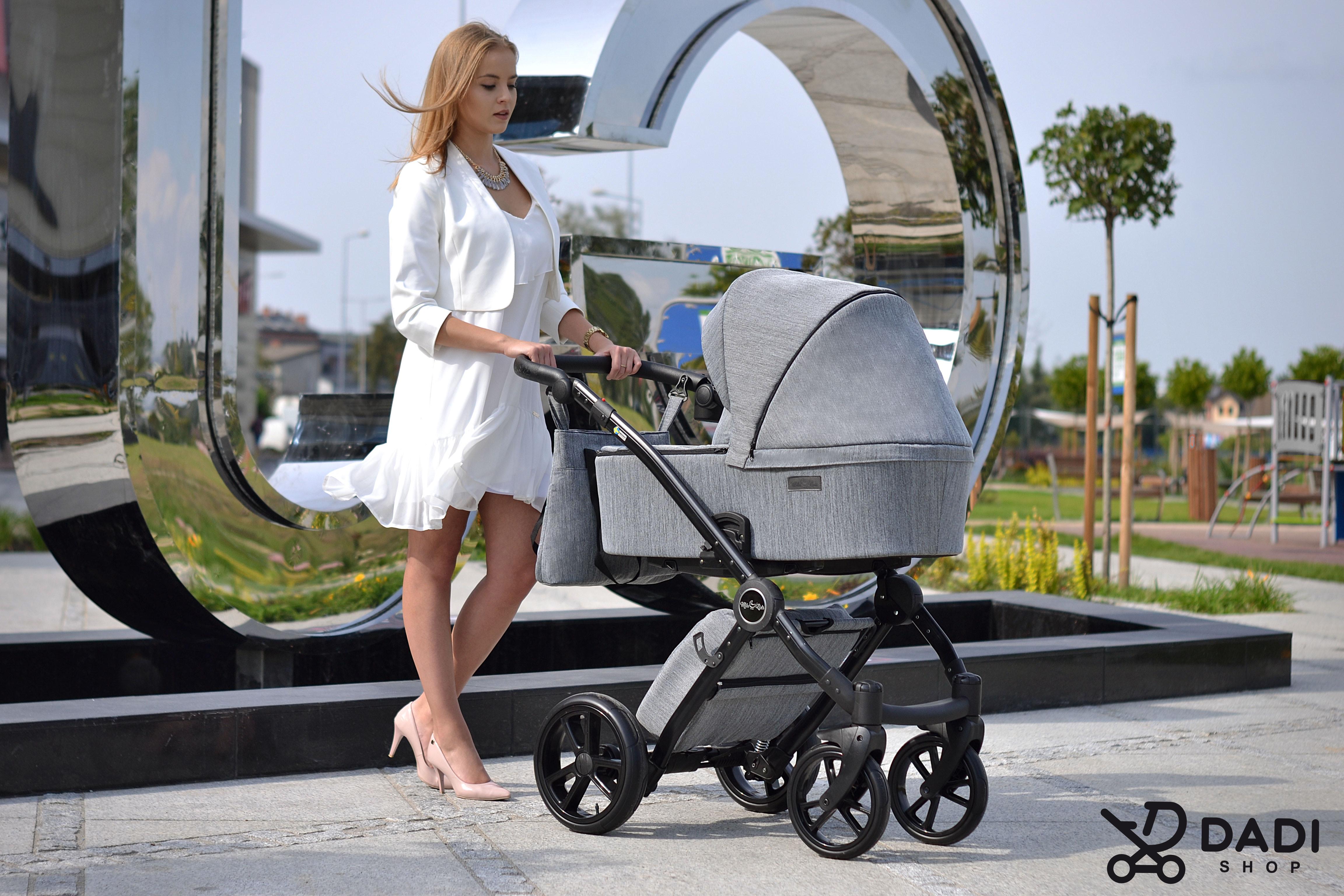 wózek dziecięcy wielofunkcyjny polski producent Milu Kids